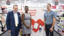 World Champion Swimmer Chase Kalisz Helps CVS Health Kick Off Free Health Screenings in Atlanta