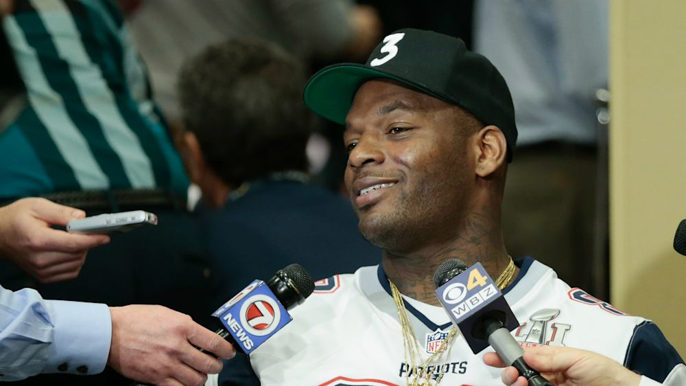 Martellus Bennett isn't a rapper, but some of his friends are