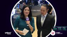 Peter Chun, founder of Silverbear Capital speaks on Yahoo Finance from the floor of the New York Stock Exchange