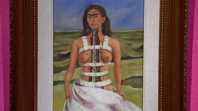 Kahlo and Rivera paintings come home