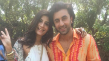 Photo: Ranbir Kapoor is the spitting image of Sanjay Dutt in a colourful orange shirt