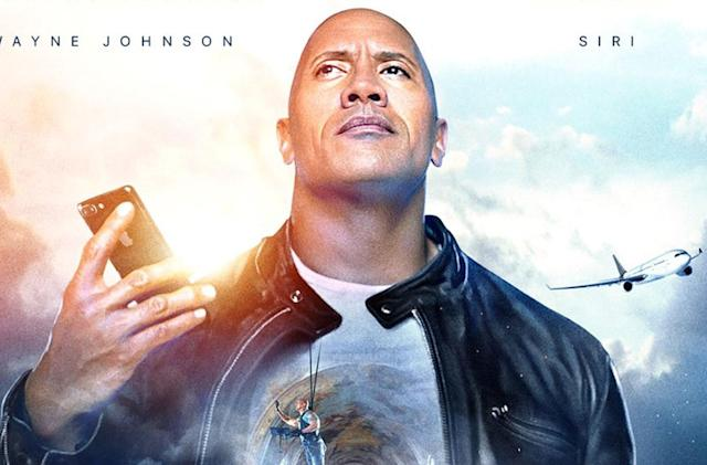 Dwayne Johnson and Apple made a Siri movie (update: live)