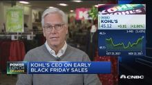 Kohl's CEO Kevin Mansell: Opening on Thanksgiving puts th...