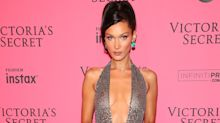 Bella Hadid Wore Not One, But Two Naked Dresses After the Victoria's Secret Show