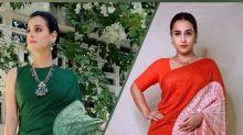 Vidya Balan's Latest Shibori Saree Make Us Think Of Dia Mirza's Red Saree; Take A Look