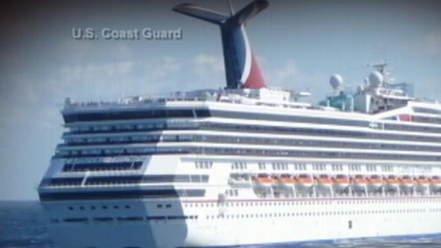 Carnival Cruise Ship Making Its Way to Port