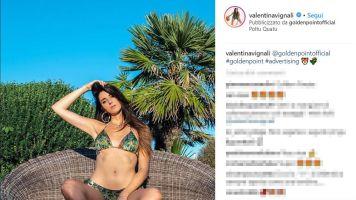 L'estate di Valentina Vignali è già bollente