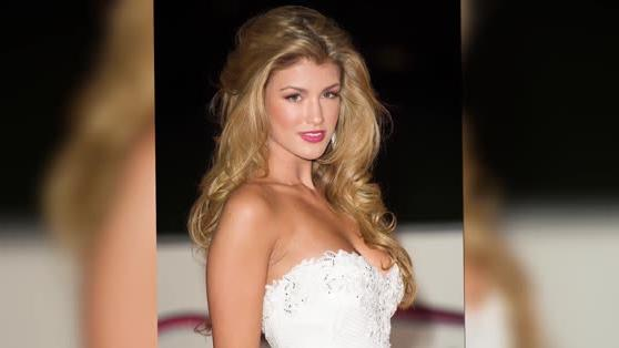 Amy Willerton Is Post-Jungle Perfection on the Red Carpet