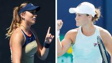 Ash Barty sets up clash with Australian Open quarantine villain