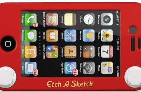 Etch-a-Sketch iPhone case draws on nostalgia
