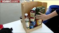 Boy Scouts help local food pantry