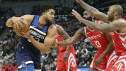'Wolves show some fight, knocking off Rockets