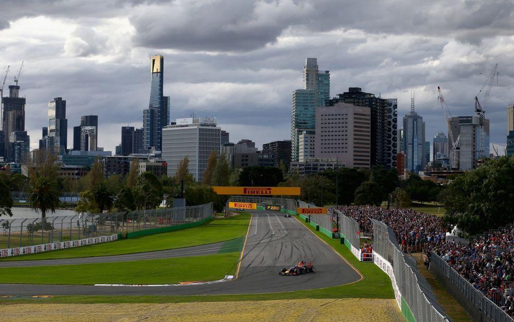 Home favourite Daniel Ricciardo, here pictured the 2014 Australian GP - Getty Images Sport