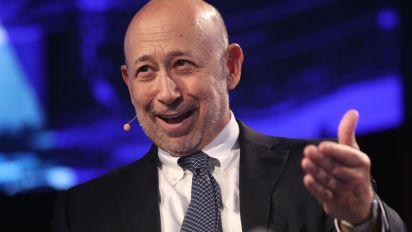 Goldman Sachs FICC trading falls 50%