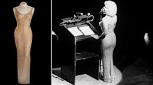 Marilyn Monroe's iconic 'Happy Birthday Mr President' dress sells for record-breaking sum at auction