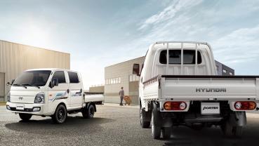 Hyundai 新小霸王 Porter Pro 預售 72.8 萬起,明年第一季上市