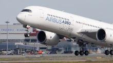Airbus corta produção do A350, após divulgar prejuízo trimestral pior que o esperado