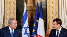 """Macron à Netanyahu: """"laisse une chance à la paix"""""""
