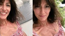 Davina McCall responds to bikini pic controversy by posting comparison photo from same day