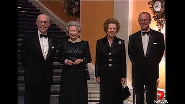 Thatcher suffered stroke in hotel