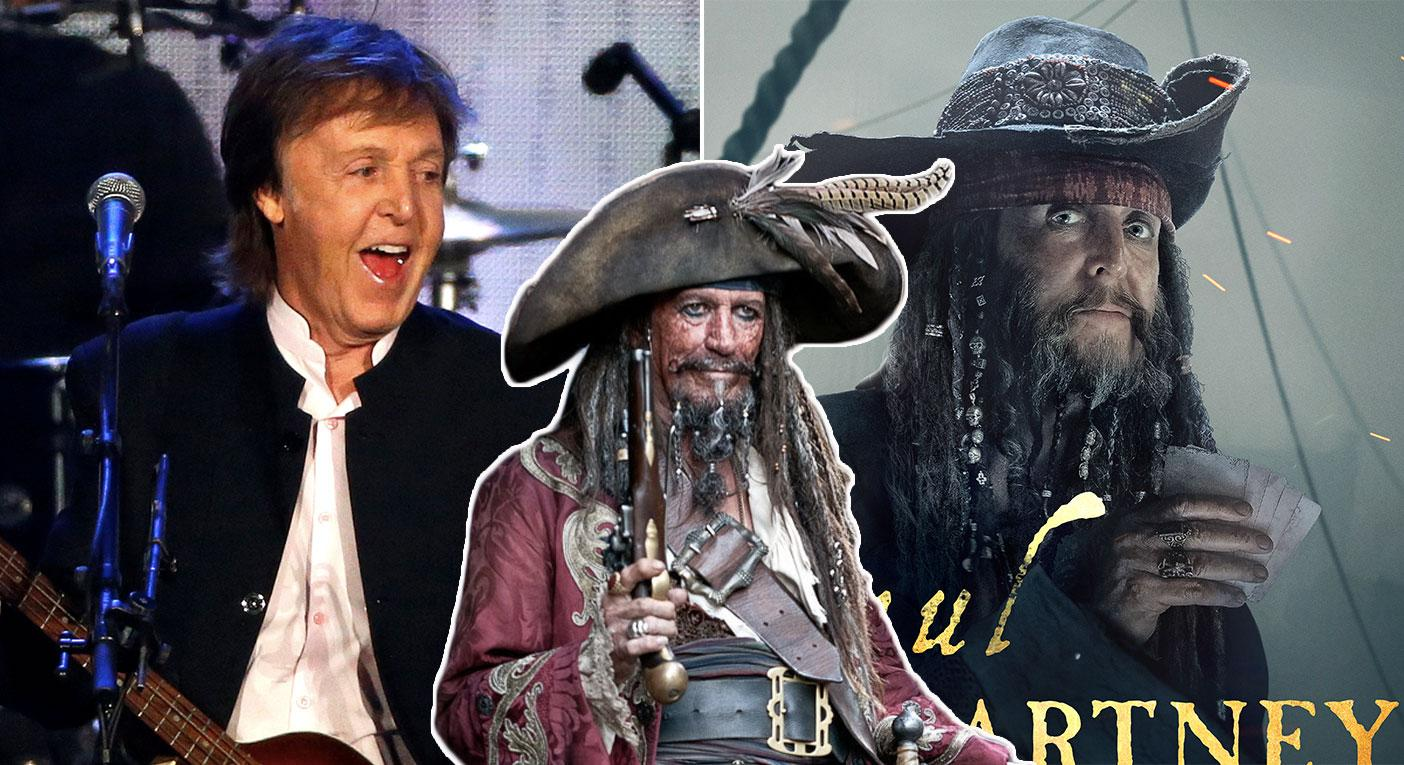 How Keith Richards Helped Paul Mccartney Land His Pirates 5 Cameo