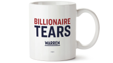 Elizabeth Warren is now selling 'billionaire tears' campaign mugs