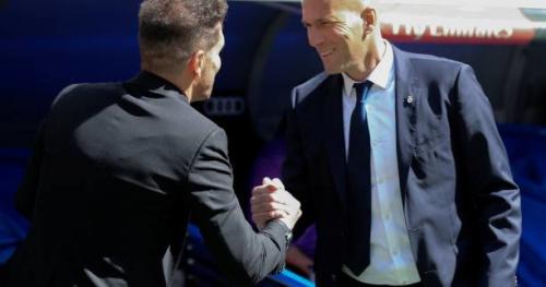 Foot - ESP - Zinédine Zidane après Real - Atlético (1-1) : «On méritait plus»