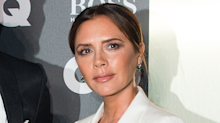 Victoria Beckham shows off new LED face mask that helps the ageing process and acne