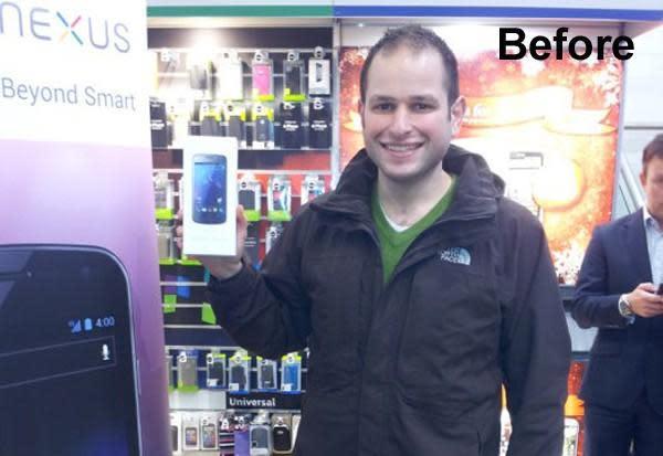 First happy Galaxy Nexus customer isn't so happy, wants to exchange it (update: replacement works fine)