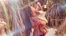 See the Adorable Holiday Snaps Beyoncé Shared of Sir and Rumi