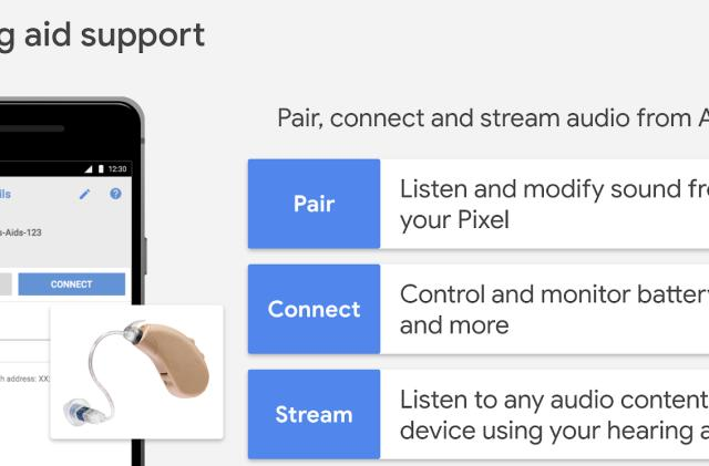 Google brings native hearing aid support to Android