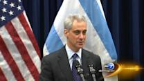 Emanuel missing during school closing announcement
