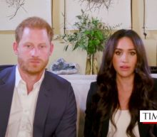 Meghan Markle says she and Prince Harry don't want to 'miss a single moment' of watching their son Archie grow during the pandemic