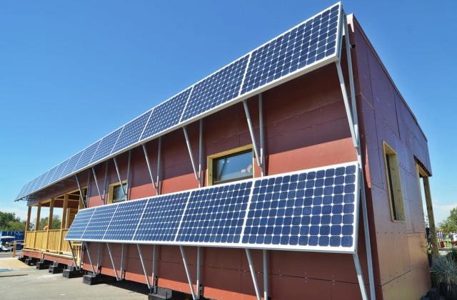 7 tiny solar-powered homes