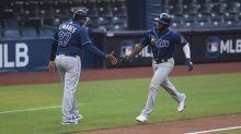 Arozarena leads Rays' power display in 8-4 win vs. Yankees