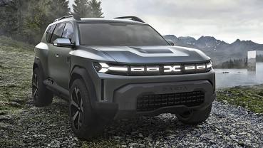 雷諾集團公布全新戰略,DACIA主打物超所值平價市場,推出Bigster概念休旅車