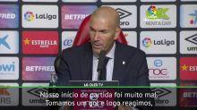 La Liga: Zidane após derrota: 'nos faltou um pouco de tudo'