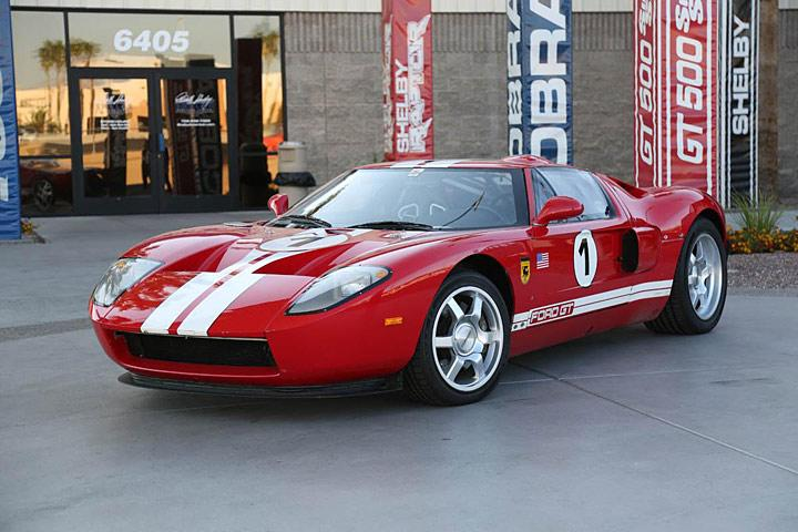 Ford Gt Workhorse One F