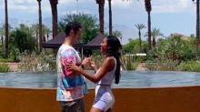 "Tayshia Adams and Zac Clark Renew Their ""Wishes"" on One-Year Anniversary"