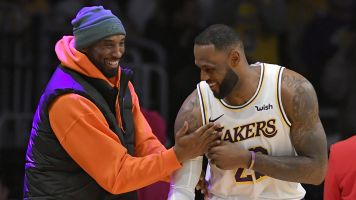 LeBron promises to continue Kobe's legacy