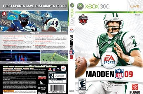 Print me: New Madden NFL 09 cover (except Xbox, Wii, and DS ...)