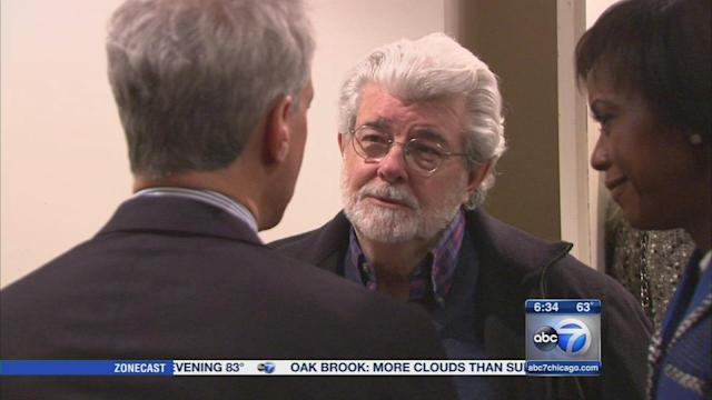 George Lucas museum panel recommends Chicago lakefront location