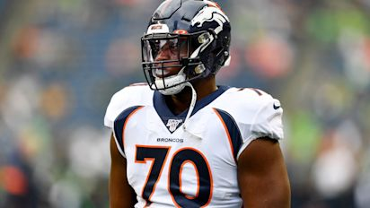 Broncos' James cut, loses $10M salary after injury