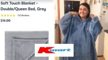 'Fantastic' Kmart Oodie blanket hack saves shopper $96