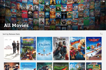 Disney launches new streaming video app, offers a free movie download as bait