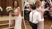 This man proposed to his girlfriend at his sister's wedding