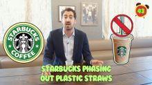 Business + Coffee: Starbucks ditching plastic straws, Zuckerberg jumps Buffett, Netflix spending big
