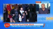 38 million dollars raised at the Perth Telethon