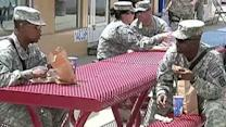 Minimum wage hike would hurt workers on military bases?