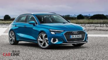 Audi A3 Sportback大改款140萬起預售,性能擔當S3同步登場!